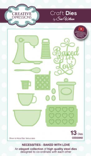 NECESSITIES COLLECTION - Baked With Love CED23002